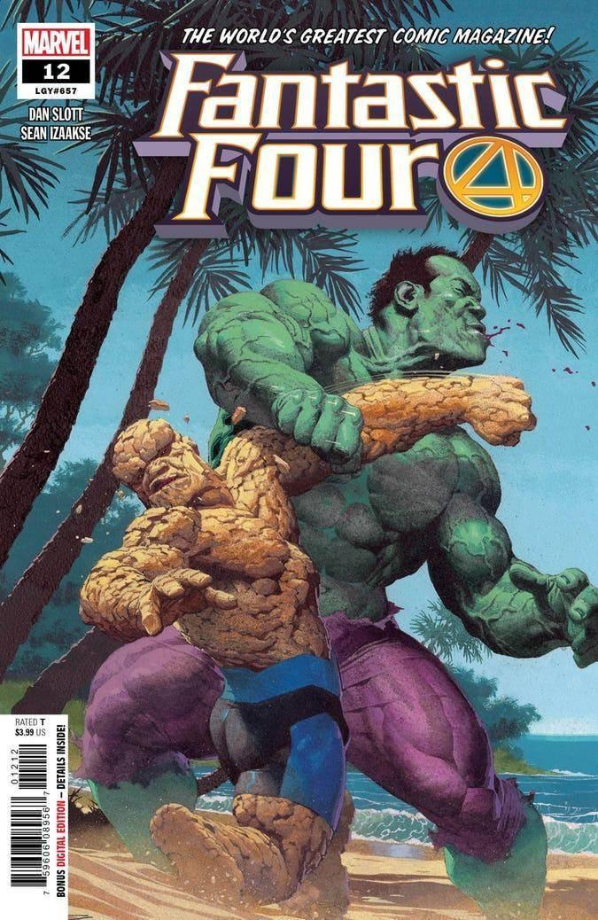 The Fantastic Four #12 (2019)