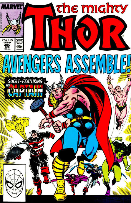 The Mighty Thor #390 (1988)