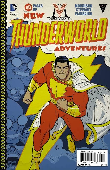 The Multiversity: Thunderworld #1