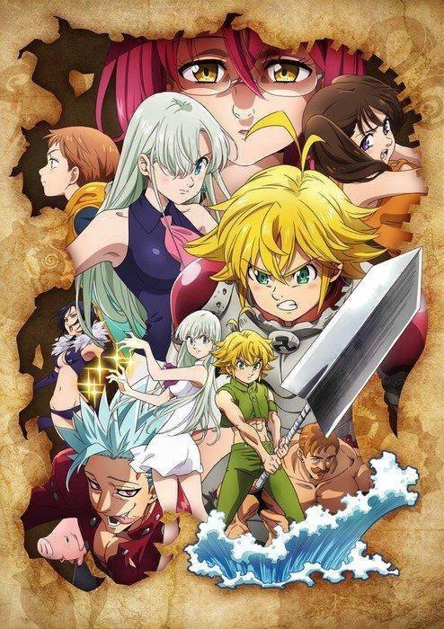 El Nuevo Anime de los Siete Pecados Capitales llega a TV en Otoño 1