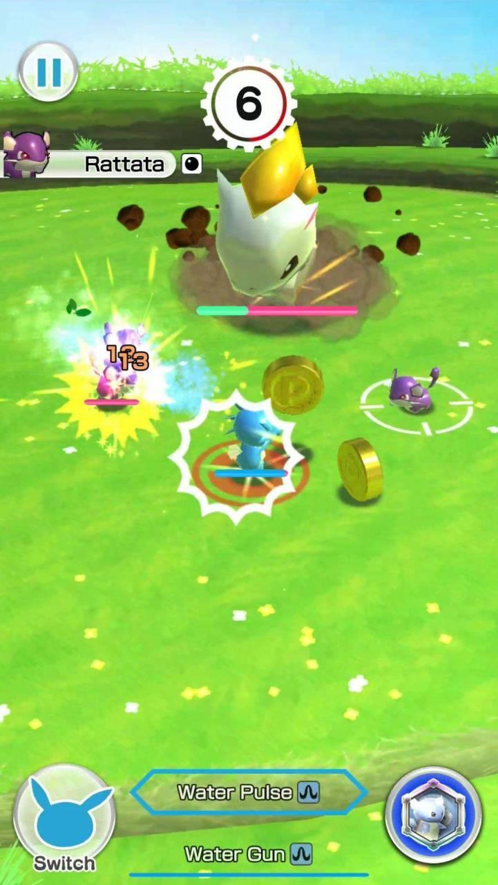¡Pokémon Rumble Rush llega a dispositivos moviles! 12