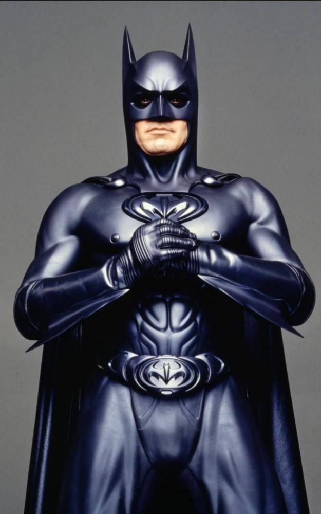 "George Clooney ""Batman & Robin"" (1999)"