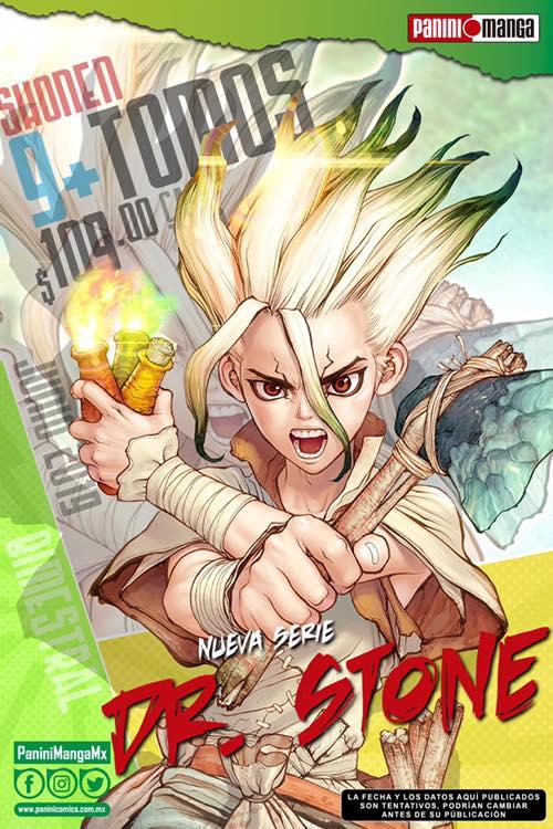 Crunchyroll transmitirá el Anime Dr. Stone 3
