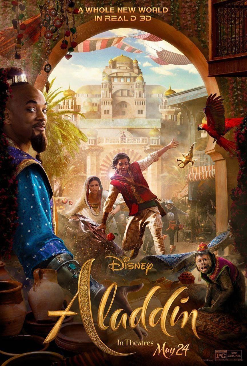 Will Smith presenta al Príncipe Ali en el nuevo clip de Aladdin 2