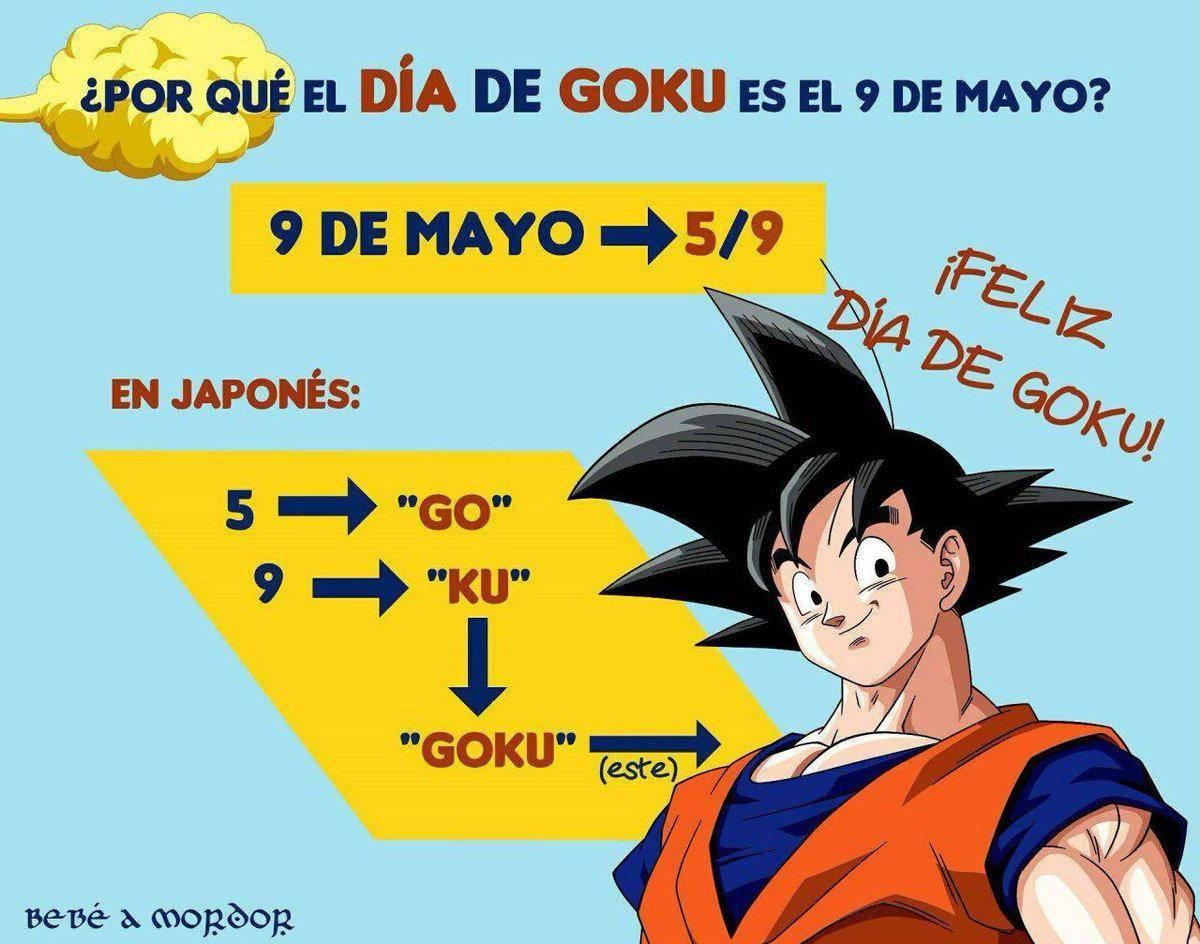 ¡Hoy es el Goku Day! 1