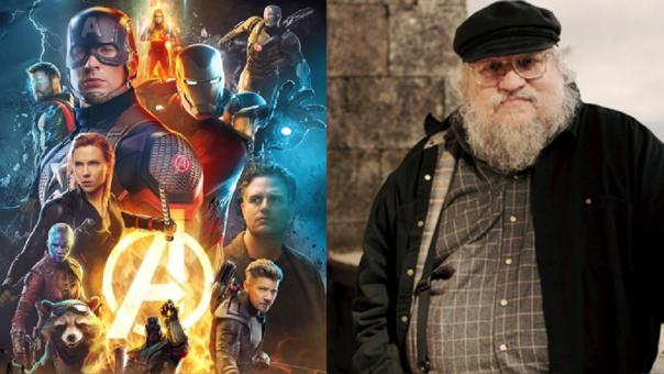 George R.R. Martin habla de Avengers: Endgame 1