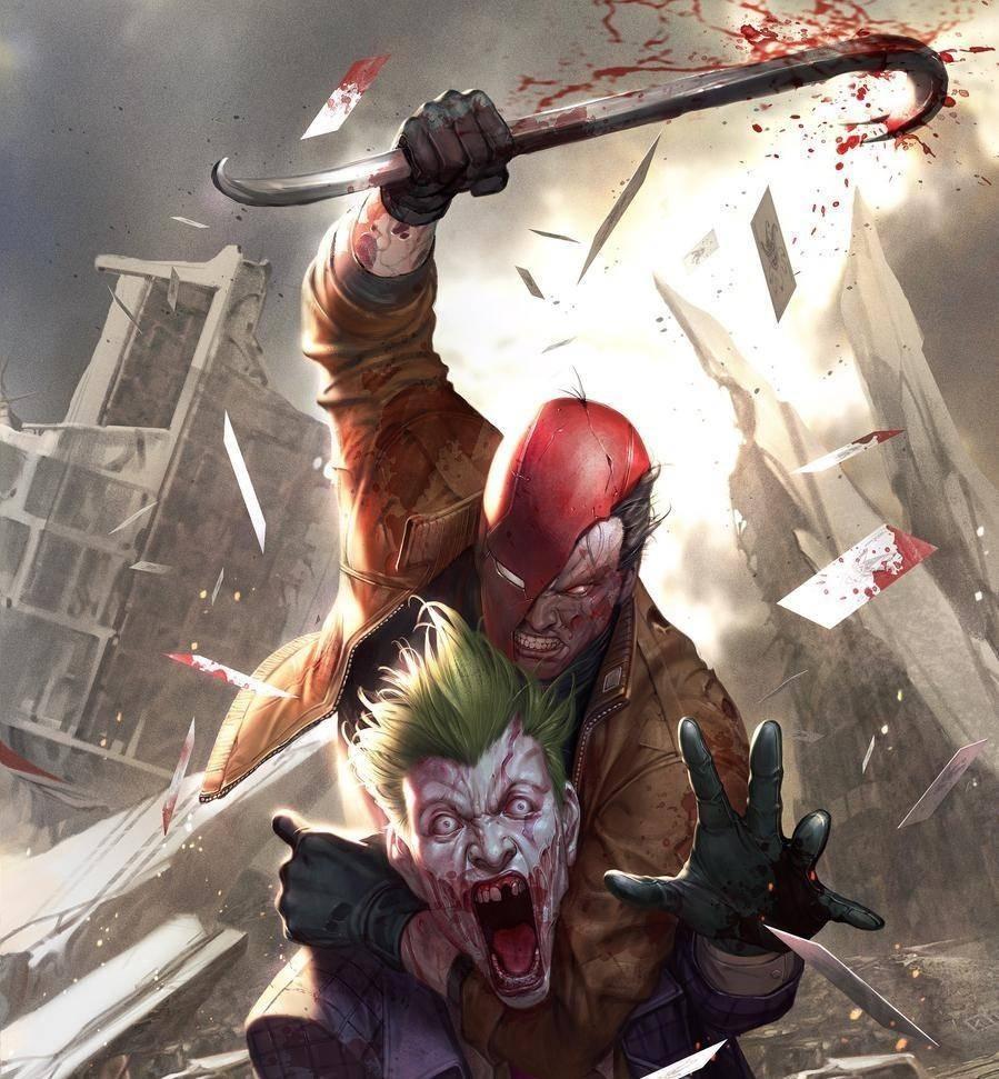 Red Hood obtiene venganza en la portada de DCeased #2