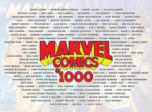 Marvel Comics#1000 (2019)