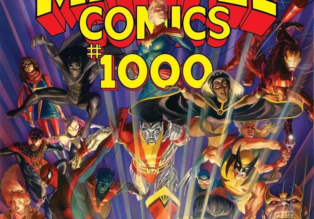 Se anuncia la alineación del Marvel cómics #1000