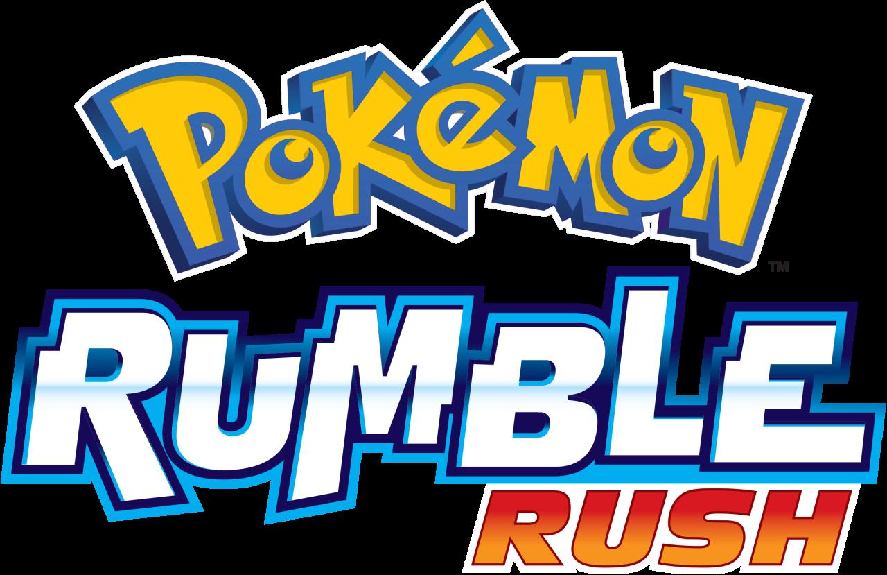 ¡Pokémon Rumble Rush llega a dispositivos moviles!