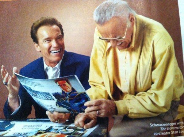 Arnold Schwarzenegger protagonizará el nuevo show de Stan Lee 3