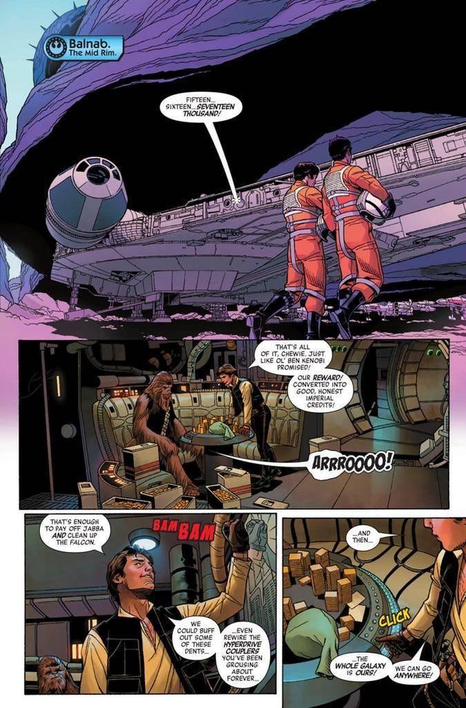 Star Wars Age Rebellion Han Solo Preview 5