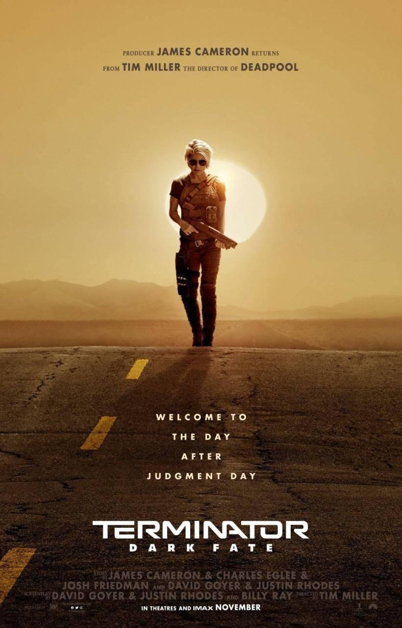 ¡He is back! Mira el primer tráiler de Terminator: Dark Fate 1