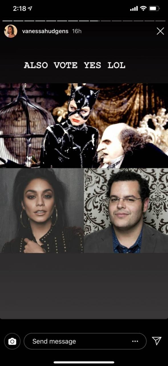 Vanessa Hudgens está de acuerdo con ser la próxima Catwoman 3