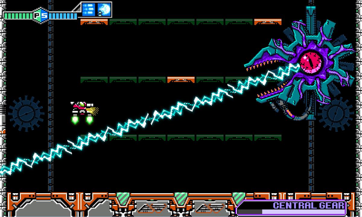 Inti Creates revela Blaster Master Zero para Steam 13