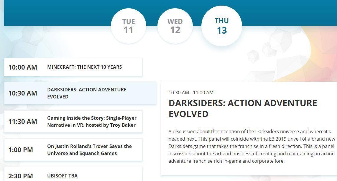 Un nuevo Darksiders seía presentado en la E3 1