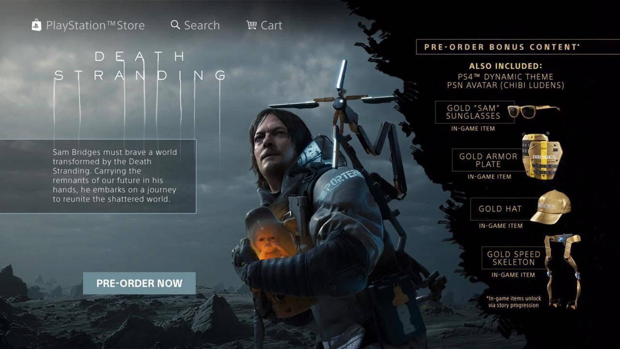 Death Stranding presenta su primer gameplay 1
