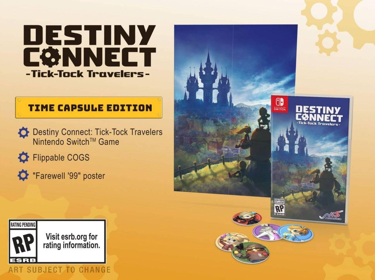 Destiny Connect: Tick-Tock Travelers ya tiene fecha de lanzamiento 1