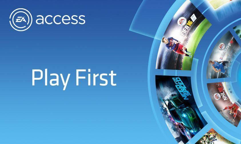 EA Access llegará a PlayStation 4 próximamente