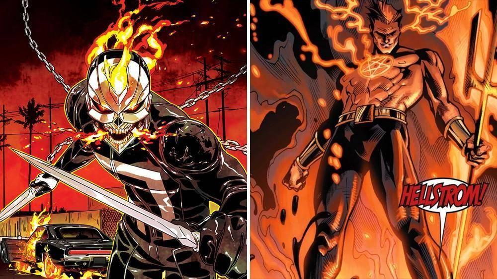 Hulu ordena serie de 'Ghost Rider' y 'Helstrom' 1