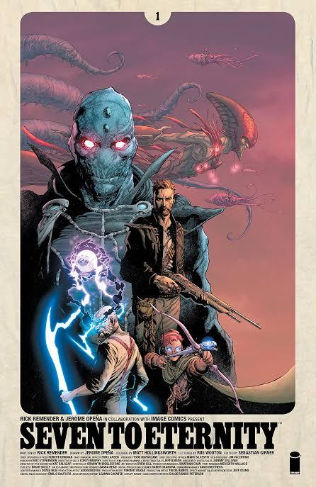 Seven to Eternity (Image Comics, 2017)