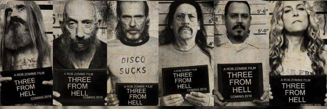 """Rob Zombie libera Trailer de """"3 From Hell"""" 2"""
