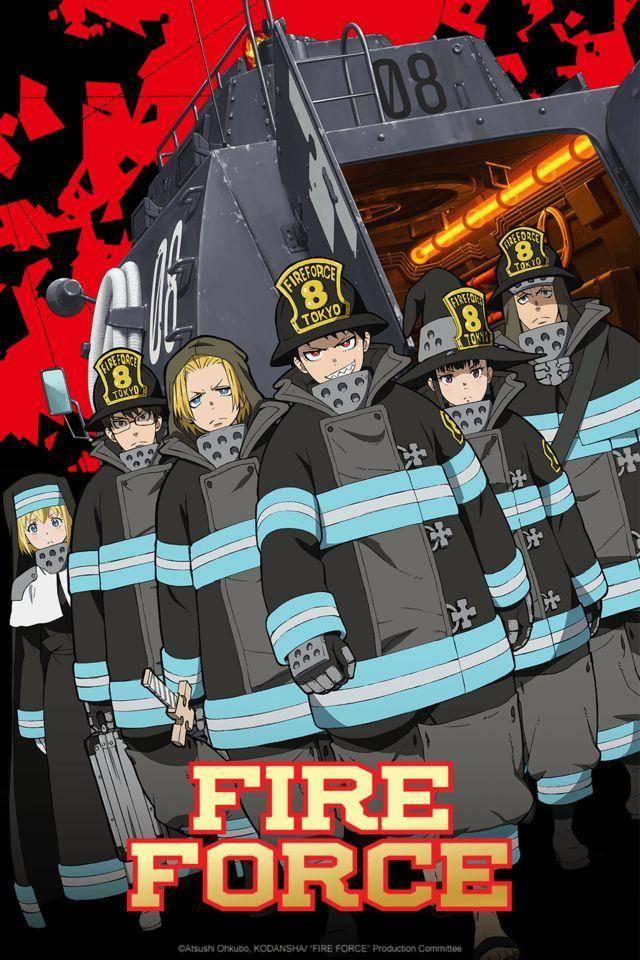 Crunchyroll transmitirá Fire Force en Julio 1