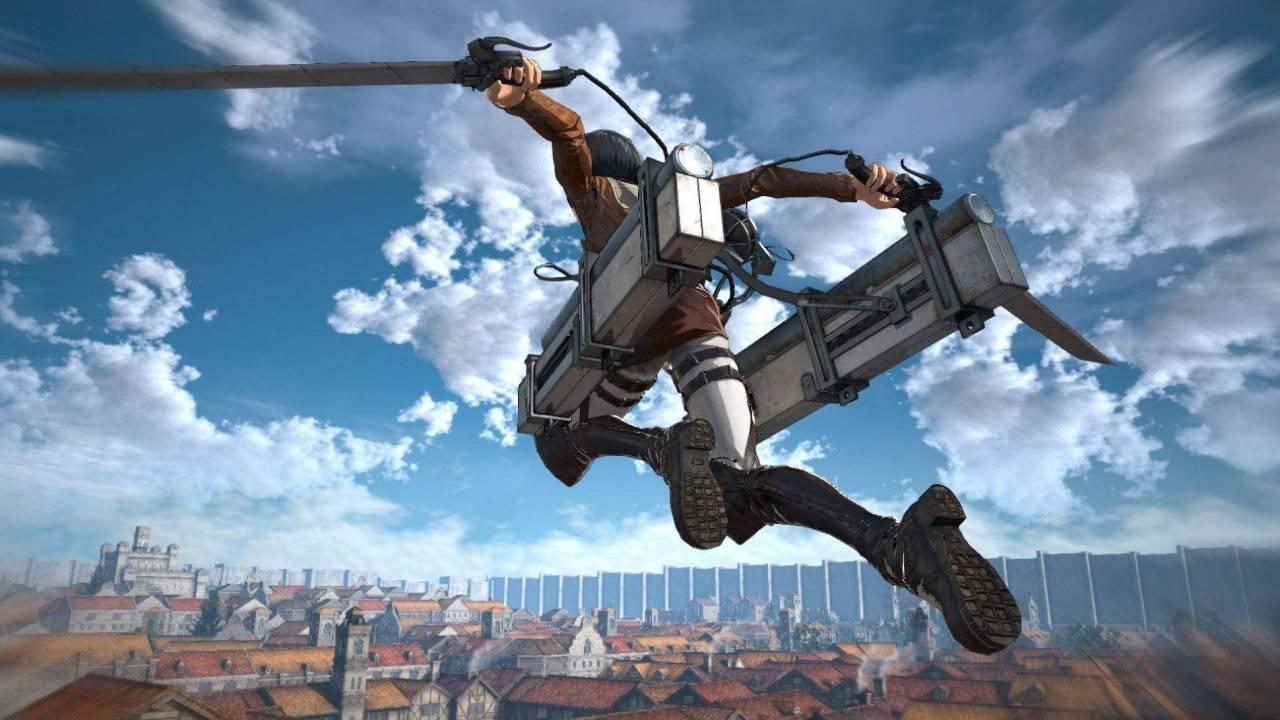 Attack on Titan lanza su Equipo de Maniobras Tridimensionales oficial