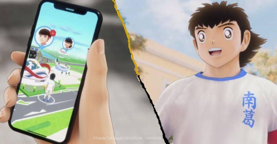 Supercampeones tendrá juego de Realidad Aumentada, conoce Tsubasa+