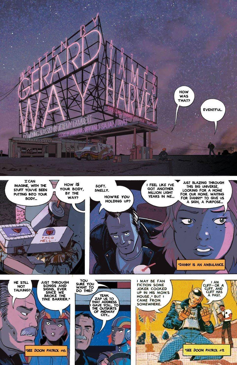 Doom Patrol: Weight of the Worlds # 1