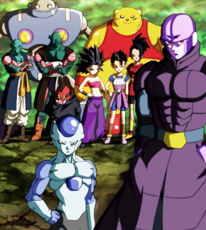 Fanáticos de Dragon Ball Super quieren un spin-off del Universo 6 1