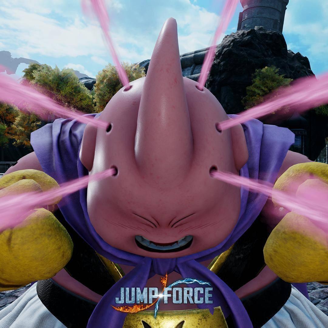 Primeras imágenes de Majin Buu en Jump Force 3