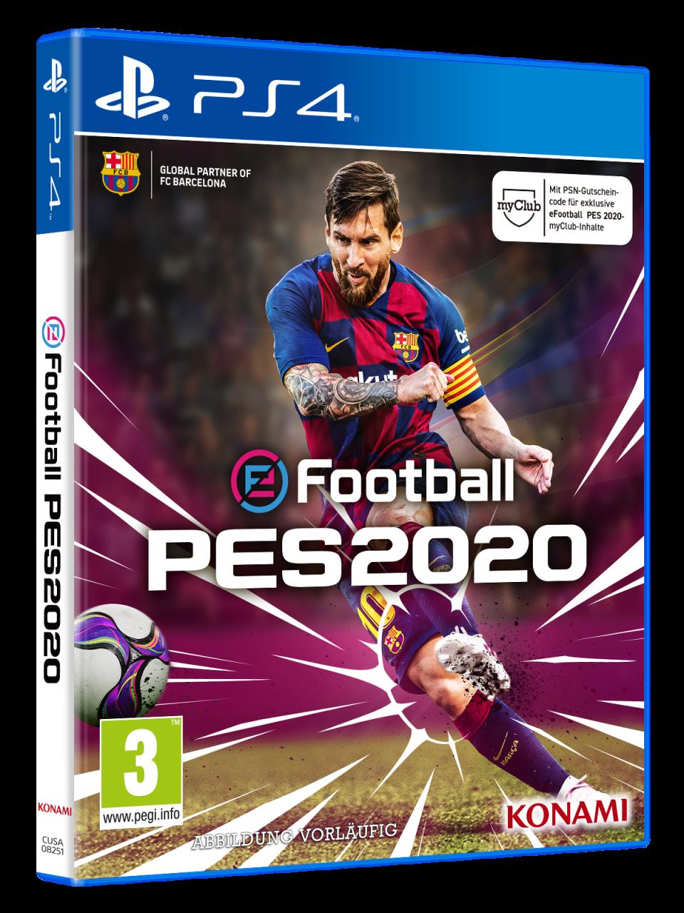 #E32019 Nuestra impresión de Pro Evolution Soccer 2020 1