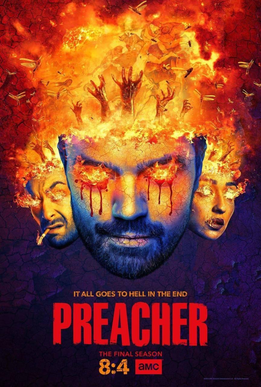 Mira el primer avance y póster de Preacher, temporada final 1