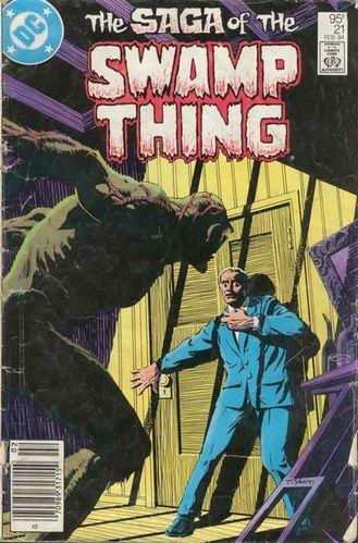 Saga of Swamp Thing #21 (1984)