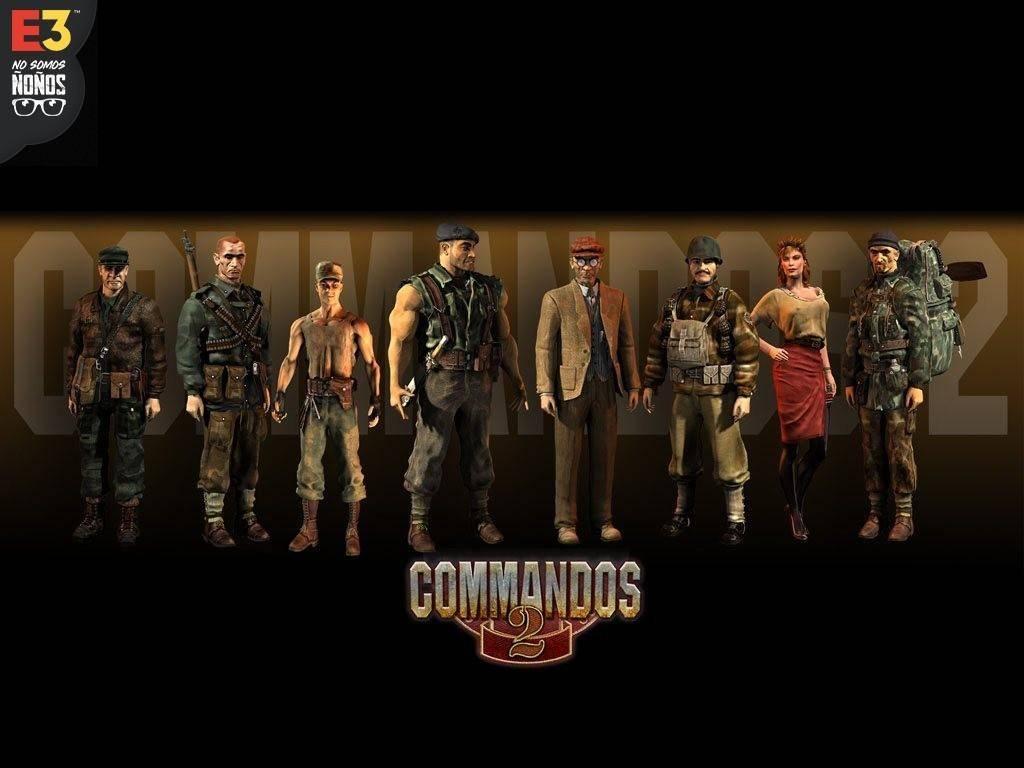 #E32019 Commandos 2 es anunciado en HD y remasterizado