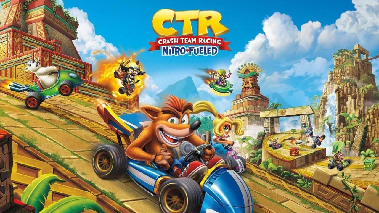 Nuevo contenido para Crash Team Racing llegará desde el pasado