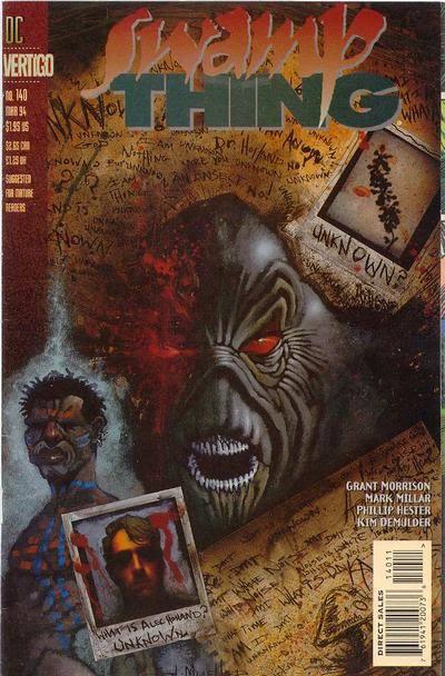 Swamp Thing #140-144 Vértigo (1994)