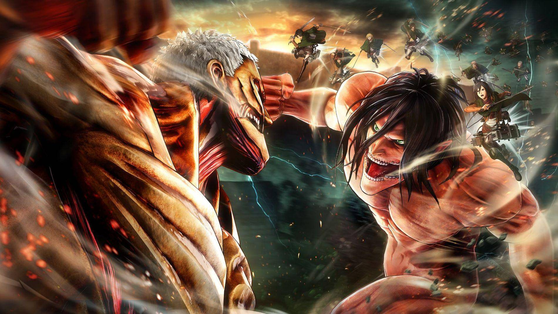 Ya está disponible Attack On Titan 2: Final Battle