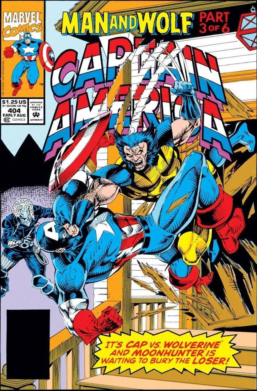 Captain America #404 (1992)