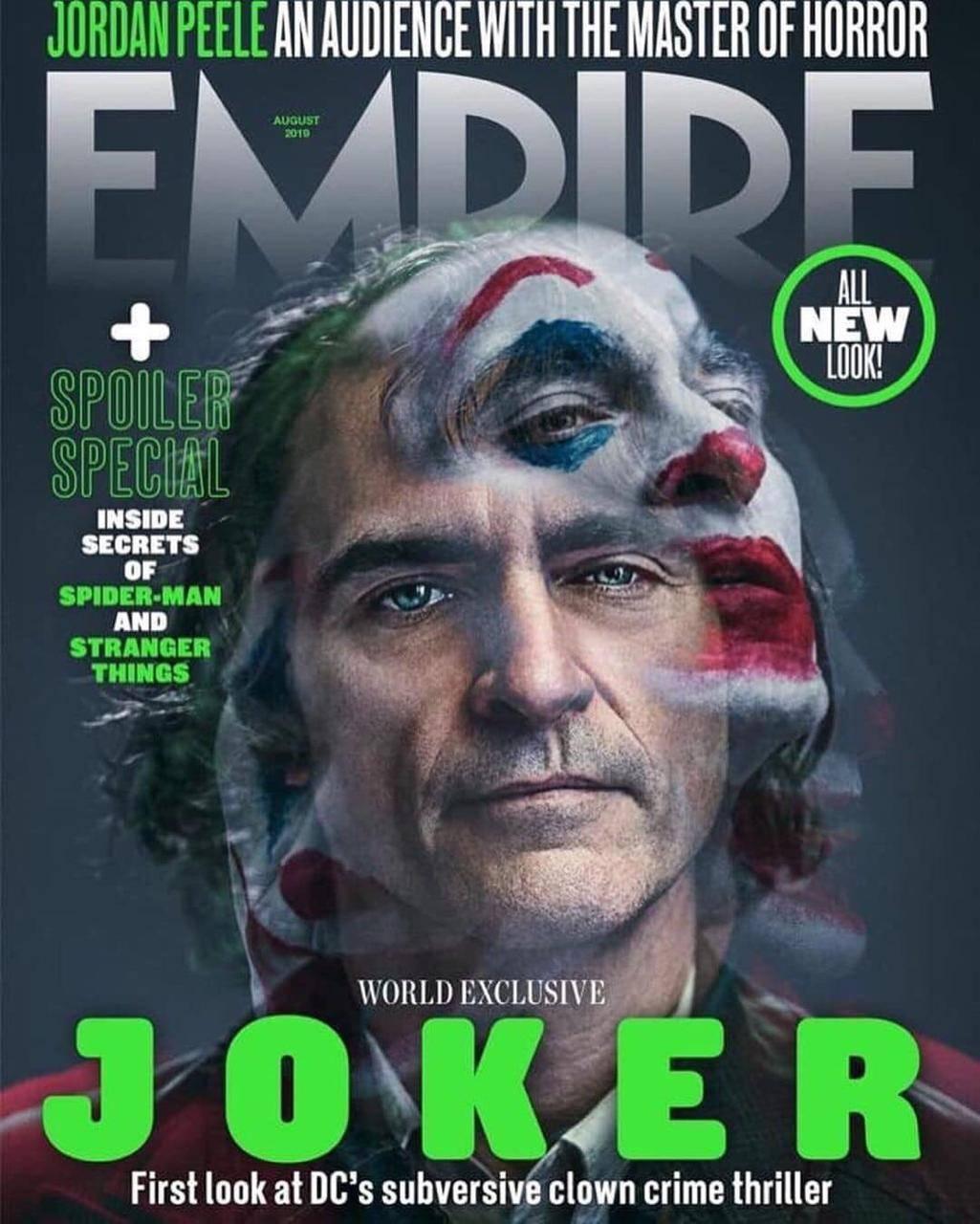 Nuevo vistazo a Joker en la portada de Empire Magazine 2