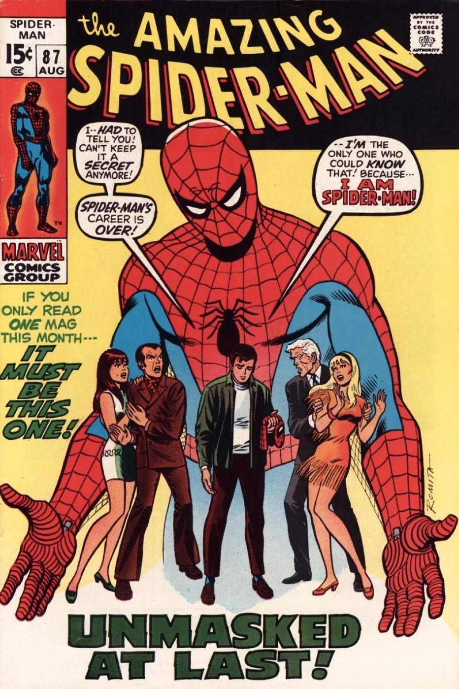 Amazing Spider-Man #87 (1970)