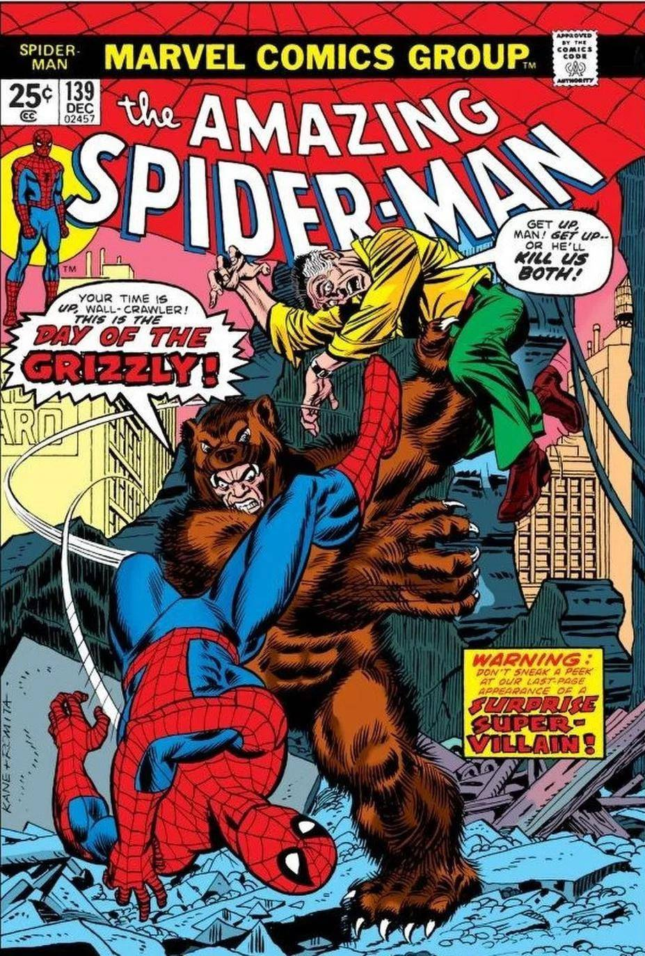 Amazing Spider-Man #139 (1974)