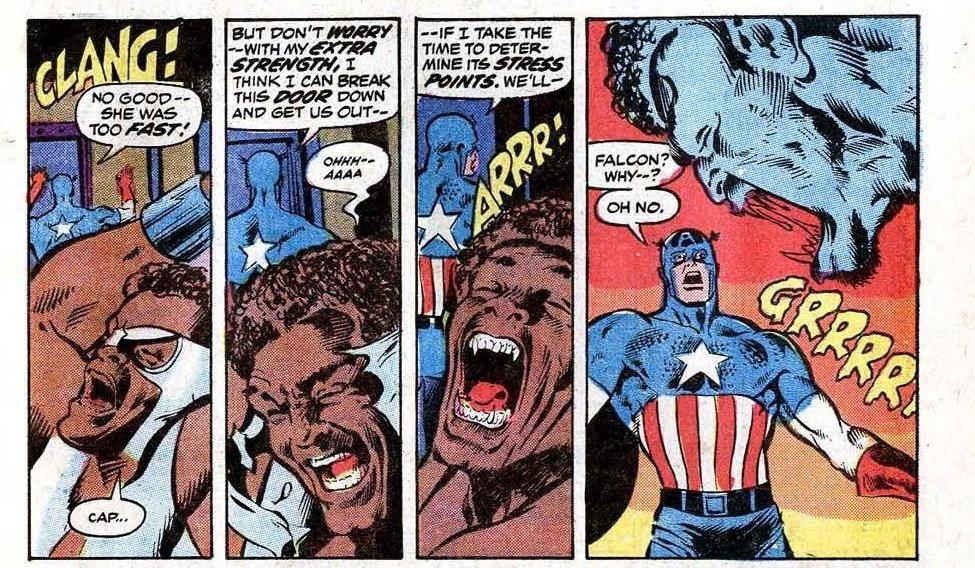 Captain America and the Falcón #164 (1973)
