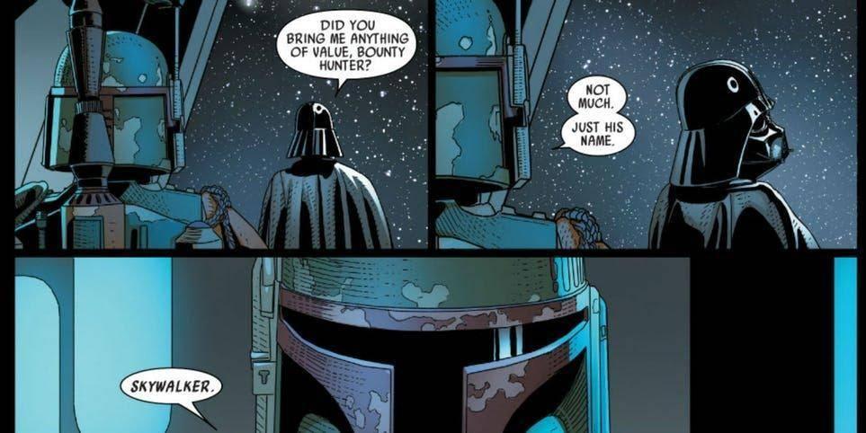 Ha revelado la verdad a Darth Vader