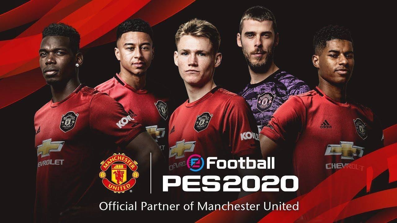 Manchester United será partner en el PES 2020 2