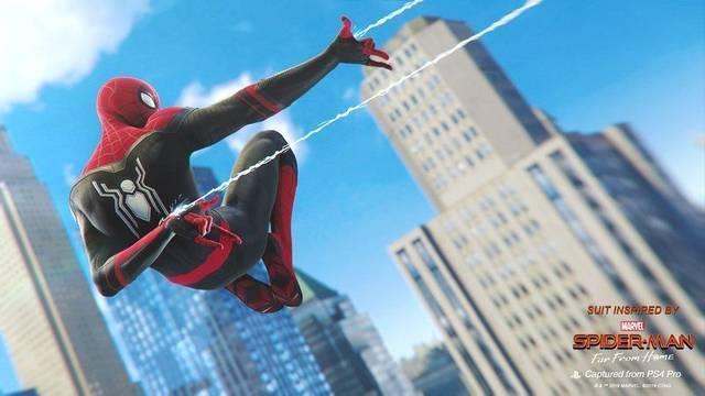 Marvel´s Spider-Man de PS4 recibe nuevos trajes 1