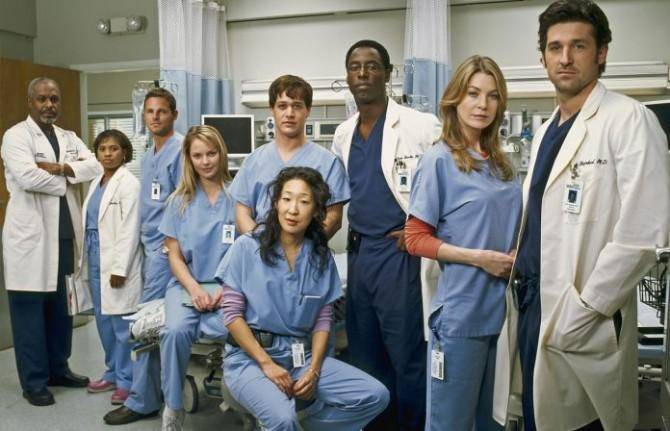 Elenco original de Grey's Anatomy