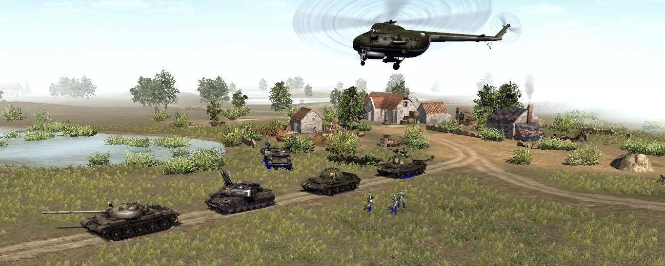 Helicópteros y Tanques en Men of War: Assault Squad 2 Cold War Expansion