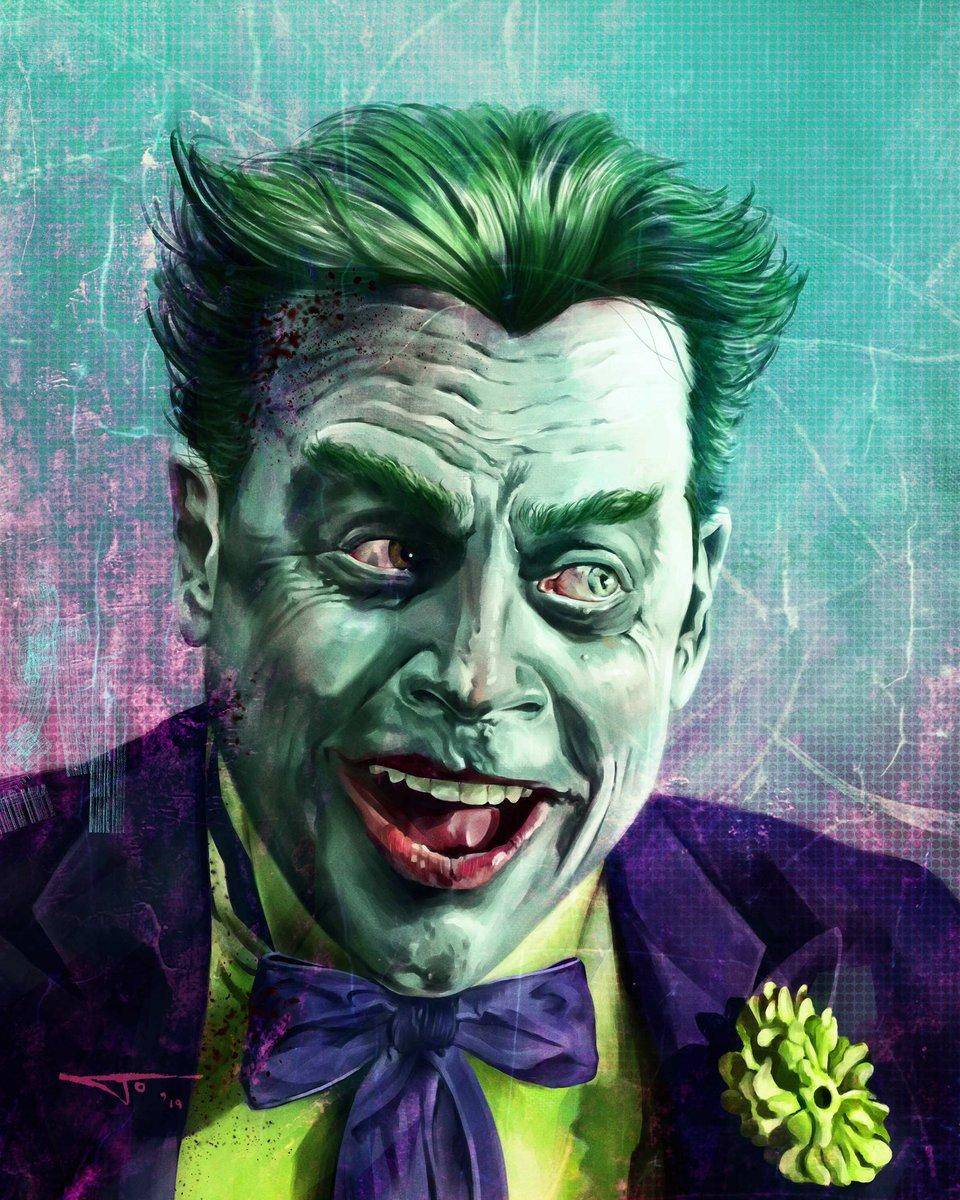 Fan-art de Mark Hamill como el joker